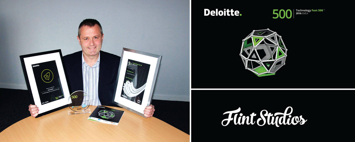 Flint Studios Celebrate Listing on the Deloitte 2016 Technology Fast 500 EMEA